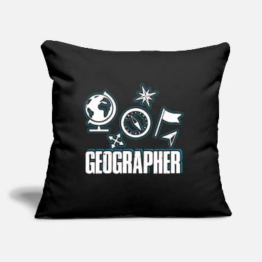 Geographic Geographer - Throw Pillow Cover