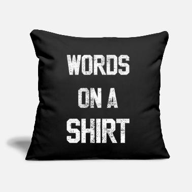 Word words - Throw Pillow Cover