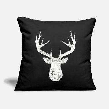 "Antler antler - Throw Pillow Cover 18"" x 18"""