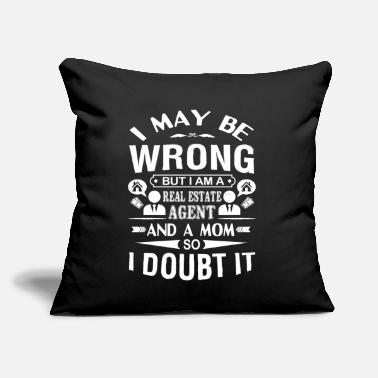 "Real Estate Agent I'm A Real Estate Agent - Throw Pillow Cover 18"" x 18"""