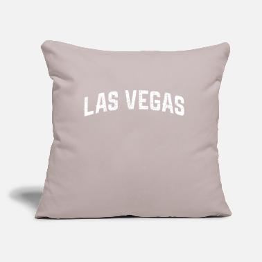 "Vegas LAS VEGAS Las Vegas Las Vegas - Throw Pillow Cover 18"" x 18"""