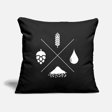 "Brewers brewer - Throw Pillow Cover 18"" x 18"""