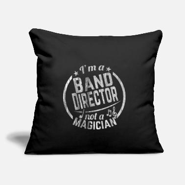 "Big Band Music Band - Throw Pillow Cover 18"" x 18"""