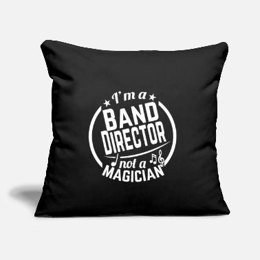 "Big Band Band Director Magician - Throw Pillow Cover 18"" x 18"""