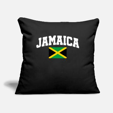 "Jamaica Jamaica Jamaica - Throw Pillow Cover 18"" x 18"""