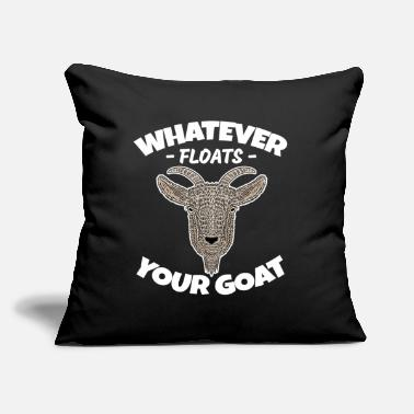 "Goat Hilarious Goat Pun - Throw Pillow Cover 18"" x 18"""