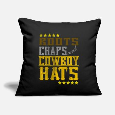 "Cowboy Gift - Throw Pillow Cover 18"" x 18"""