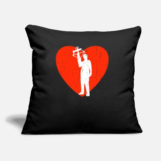 "Crossbow Pillow Cases - Crossbow - Throw Pillow Cover 18"" x 18"" black"