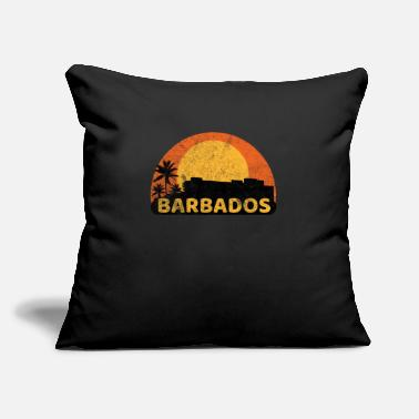 "Commonwealth Barbados Sunset - Throw Pillow Cover 18"" x 18"""