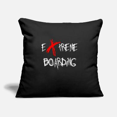 "Snowboard Snowboard Snowboard Snowboard Snowboard Snowboard - Throw Pillow Cover 18"" x 18"""