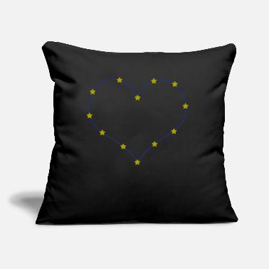 "Europe Europe Europe Europe - Throw Pillow Cover 18"" x 18"""