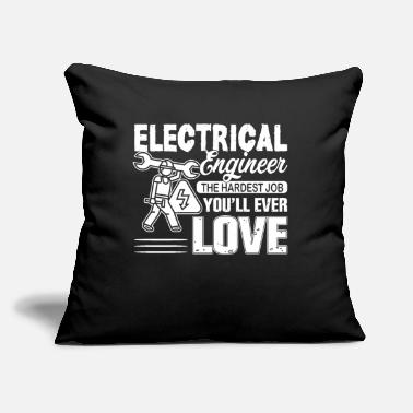 "Electrical Engineering Electrical Engineer - Throw Pillow Cover 18"" x 18"""