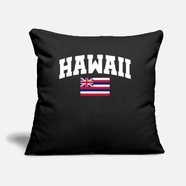 "Hawaii Hawaii - Throw Pillow Cover 18"" x 18"""