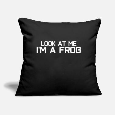 "Frog Frog frogs - Throw Pillow Cover 18"" x 18"""