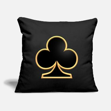"Luck luck - Throw Pillow Cover 18"" x 18"""