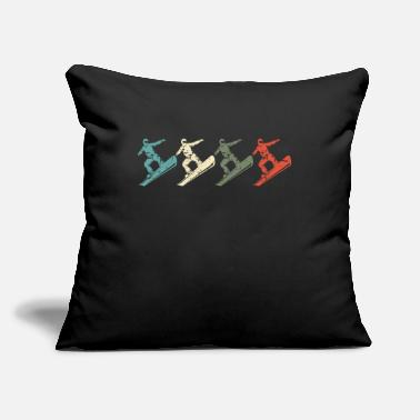 Snowboard Snowboarding Snowboarder - Throw Pillow Cover