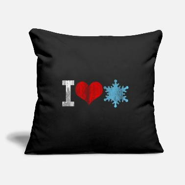 "Winter Season Winter Season - Throw Pillow Cover 18"" x 18"""