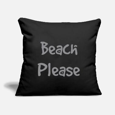 Sailboat Beach - Throw Pillow Cover