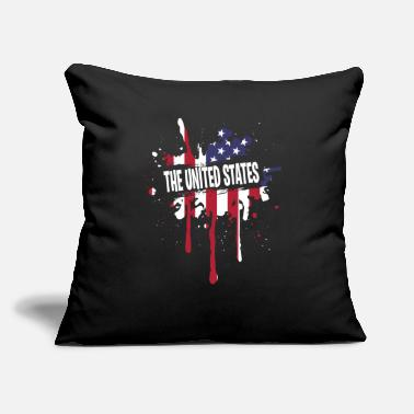 Spanish Awesome United States Shirt Men - Throw Pillow Cover
