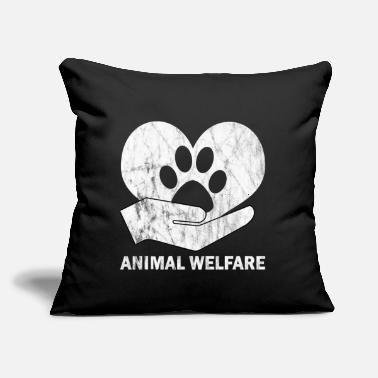 "Animal Welfare animal welfare - Throw Pillow Cover 18"" x 18"""