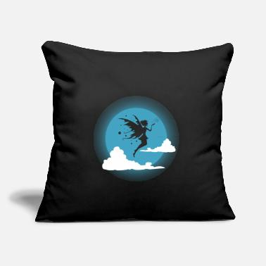 "Fairy Tale Fairy gift tooth fairy fairy tale wings - Throw Pillow Cover 18"" x 18"""