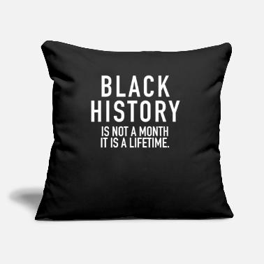 Black History Black History Is Not A Month | Black Power - Throw Pillow Cover
