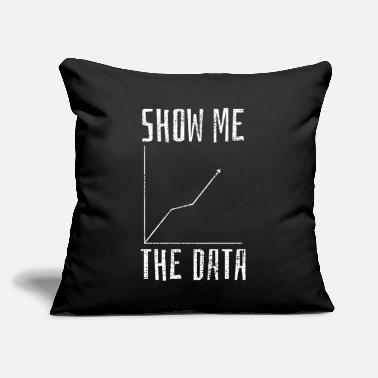 "Data Science Data Science Computer Science - Throw Pillow Cover 18"" x 18"""