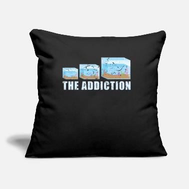 "Aquarium Aquarium - Throw Pillow Cover 18"" x 18"""