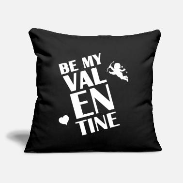 "Cupido Logo Be my Valentine Cupido Heart giftidea Love - Throw Pillow Cover 18"" x 18"""