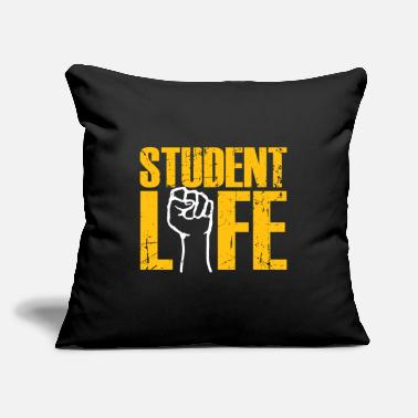 "Semester Student life gift semester break semester - Throw Pillow Cover 18"" x 18"""