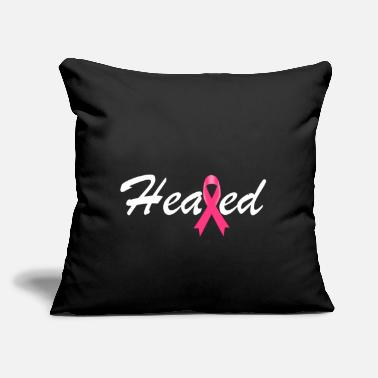 "Heal Healed - Throw Pillow Cover 18"" x 18"""