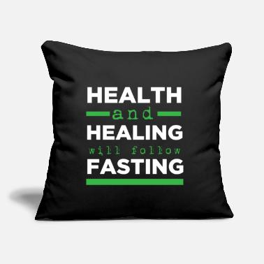 "Healing Health and Healing - Throw Pillow Cover 18"" x 18"""