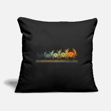 "Crab Crab Crabs - Throw Pillow Cover 18"" x 18"""