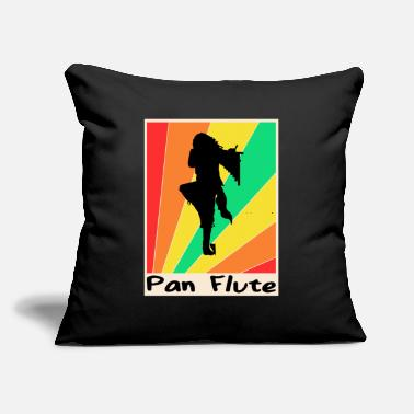 "Band Poster Pan Flute poster Hobby - Throw Pillow Cover 18"" x 18"""