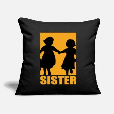 "Sister Design Sister Design - Throw Pillow Cover 18"" x 18"""