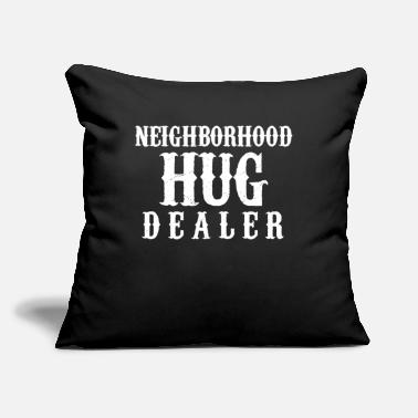 "Neighborhood Neighborhood Hug - Throw Pillow Cover 18"" x 18"""