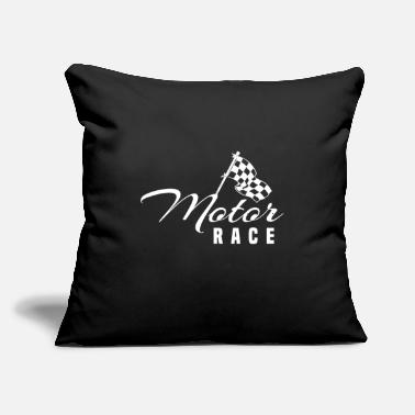 "Motorsport Motorsport - Throw Pillow Cover 18"" x 18"""