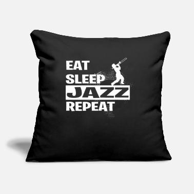 "Boogiewoogie JAZZ - Throw Pillow Cover 18"" x 18"""