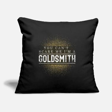"Jewelry Goldsmith - Throw Pillow Cover 18"" x 18"""