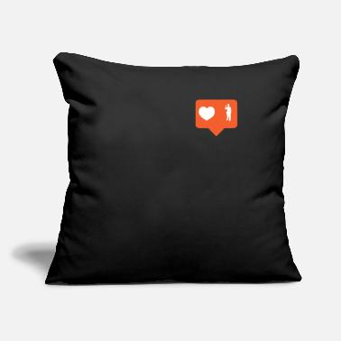 "Labor laborer - Throw Pillow Cover 18"" x 18"""