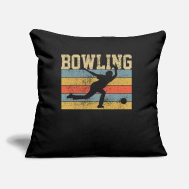 "Bowling Bowling Bowling Bowling - Throw Pillow Cover 18"" x 18"""