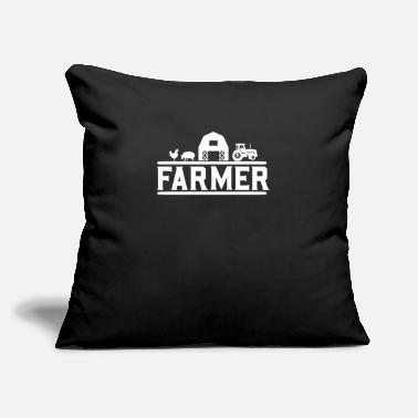 "Farmer Farmer Farmer Farmer Farmer - Throw Pillow Cover 18"" x 18"""