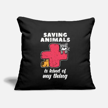 "Veterinarian Veterinarian - Throw Pillow Cover 18"" x 18"""
