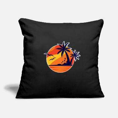 "Vacation Country Vacations - Throw Pillow Cover 18"" x 18"""