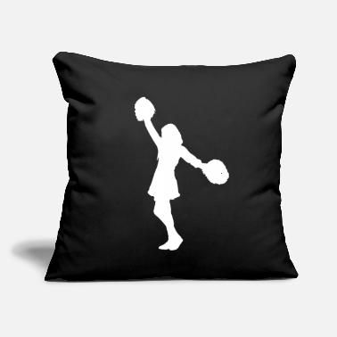 "Cheerleading Cheerleading Cheerleader - Throw Pillow Cover 18"" x 18"""