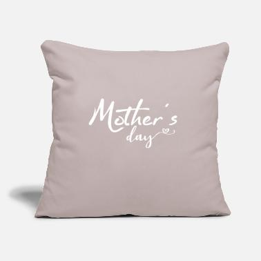 "Mother's Day Mother's Day Mother's Day Mother's Day - Throw Pillow Cover 18"" x 18"""