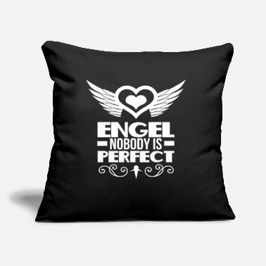 "Angels Wings Heart with Wings Angel Wings - Throw Pillow Cover 18"" x 18"""