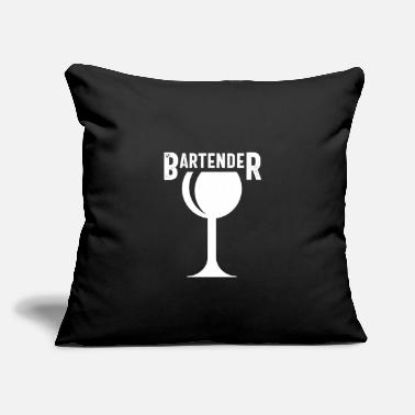 "Bartender Bartending - Throw Pillow Cover 18"" x 18"""