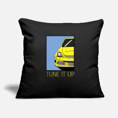 "Tuning Tuning - Throw Pillow Cover 18"" x 18"""
