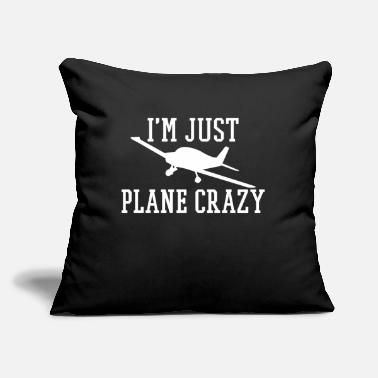 "Aviation Microlight - Throw Pillow Cover 18"" x 18"""